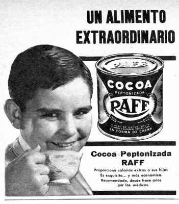 """URBATORIVM: """"COCOA RAFF"""": AQUELLOS AÑOS EN QUE LAS CALORÍAS ERAN RECOMENDABLES"""
