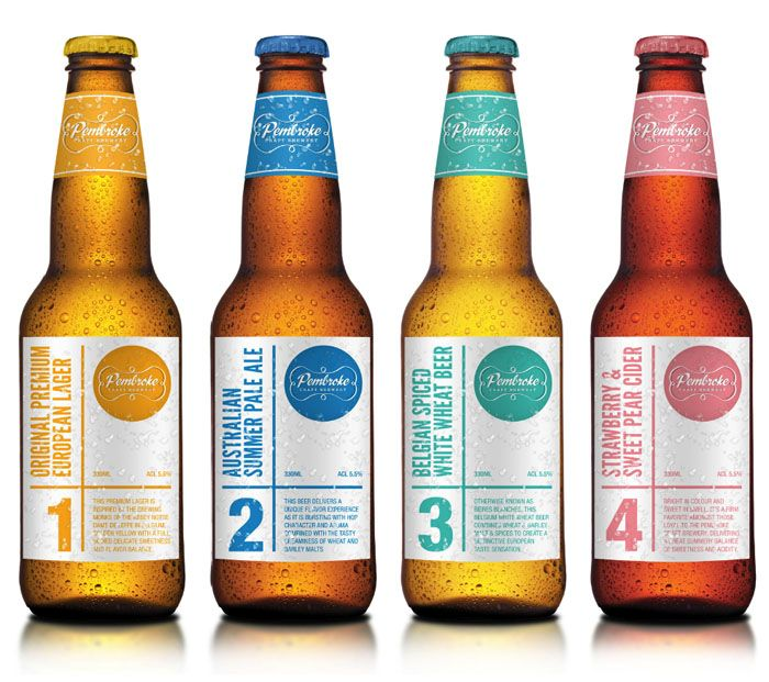 packaging: Pembroke Craft, Package Design, Packaging Design, Beer Packaging, Craft Beer, Beer Labels, Beer Bottles