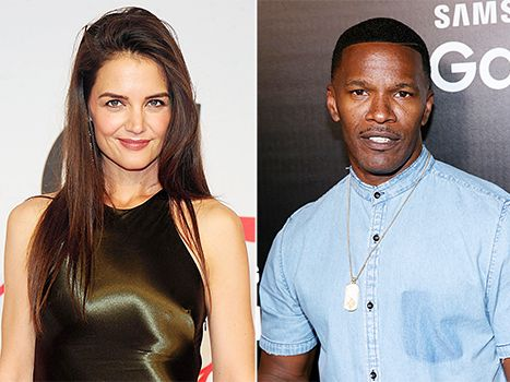 Katie Holmes hair - straight with top volume