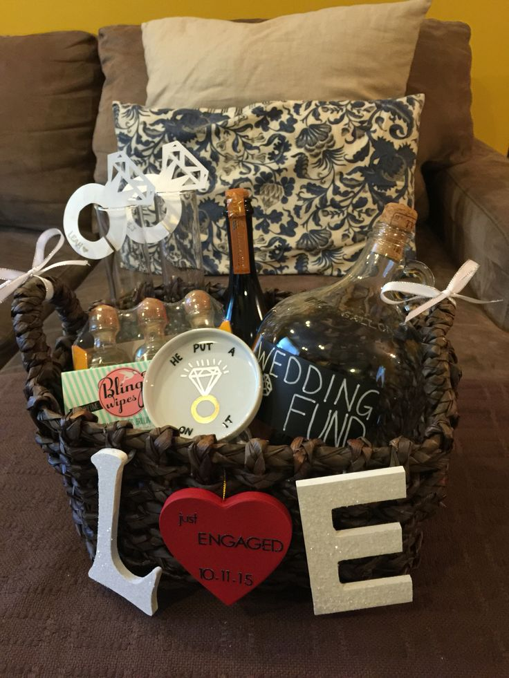 DIY Engagement basket