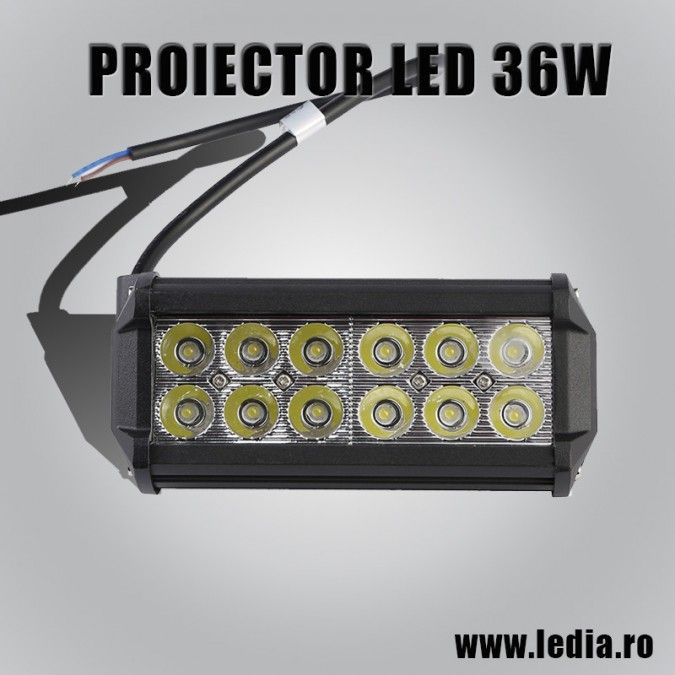 PROIECTOR LED AUTO OFFROAD 36W