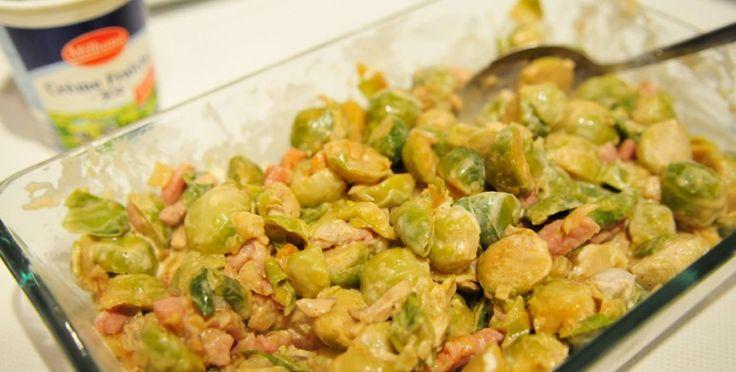 Spruitjes uit de oven met kaas - Voedzaam en Snel
