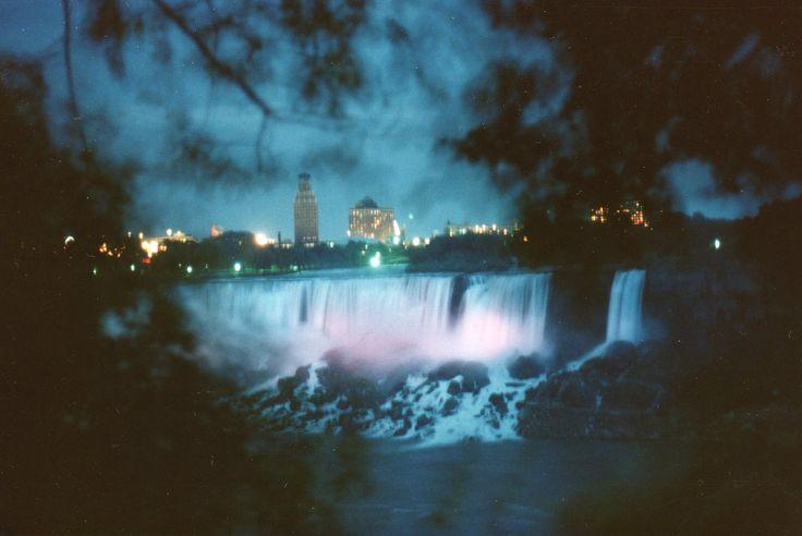 niagara falls pictures at night - Google Search