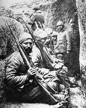 WWI: Turks at Gallipoli