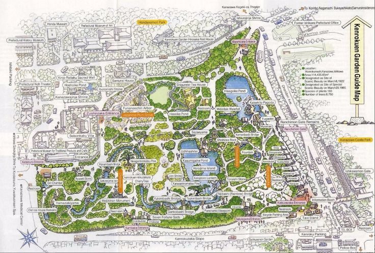 Kanazawa Map With More Info For Each Area Japan - Japan map kanazawa