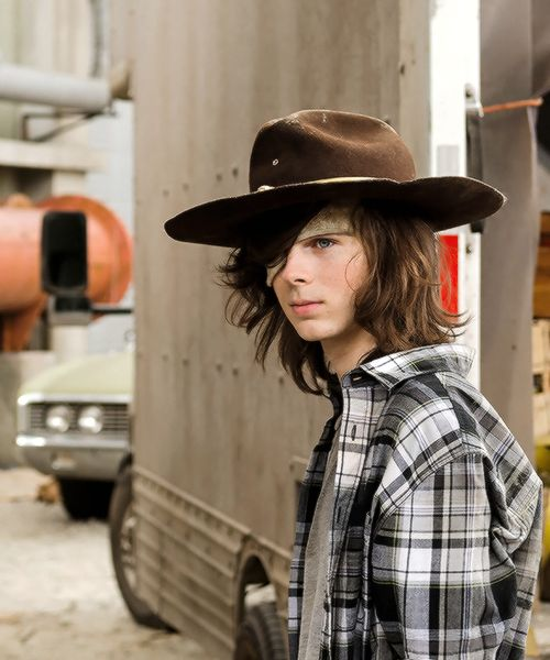 Carl in The Walking Dead Season 7 Episode 7 | Sing Me a Song