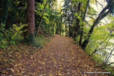 Regards et Vie d'Auvergne, le blog des Auvergnats.: Promenade d'automne au bord de l'eau au  Gour de T...