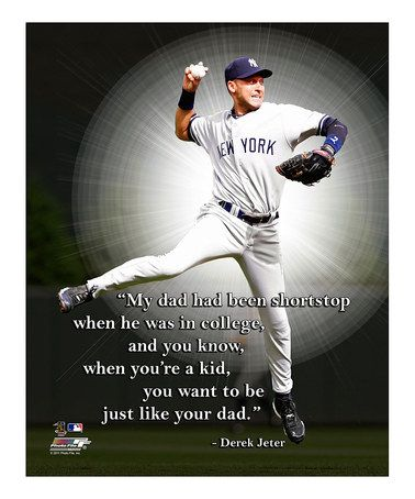 Another great find on #zulily! Derek Jeter I Pro Quote Canvas #zulilyfinds
