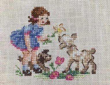 www7b.biglobe.ne.jp ~m-stitch Veronique Enginger - «La grande histoire de nos meilleurs amis»  53 motifs Les Brodeuses Parisiennes
