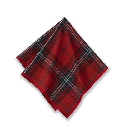 Classic Tartan Plaid Napkins #williamssonoma