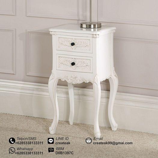 Nakas Vintage Baroque Putih
