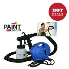 Portable Paint Zoom Sprayer (Blue/White) | LazadaPH