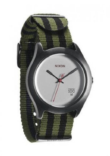 Pin it :-) Follow us :-))   zCamping.com is your Camping Product Gallery ;) CLICK IMAGE TWICE for Pricing and Info :) SEE A LARGER SELECTION of camping watch at http://zcamping.com/category/camping-categories/camping-survival-and-navigation/camping-watches/ - hunting, camping essentials, camping, camping gear - Nixon Quad Quartz Nylon Band Gray Dial Men's Watch – A344-1151 « zCamping.com