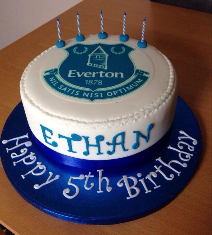 ... birthday cakes everton fc forward everton fc football birthday cake