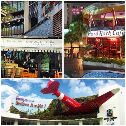 Pattaya'da Ripley's Believe It or Not, Central Festival AVM, Hard Rock Cafe ve daha onlarca atraksiyon da kollarını sonuna kadar açmış sizleri bekliyor. Bizden söylemesi... :)