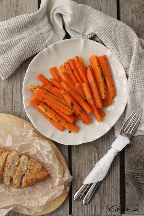 Запеченная Морковь — 58 ккал