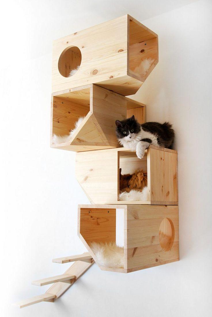 selber Katzenmöbel machen