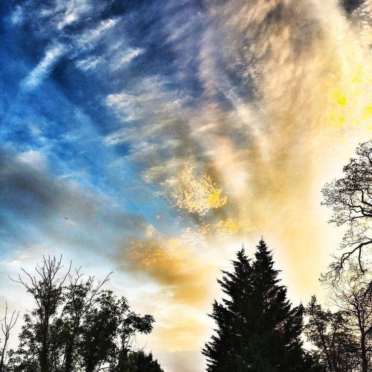 Crazy #sky tonight . . . . #clouds #cloud #cloudporn #TagsForLikes #weather #lookup #sky #skies #skyporn #cloudy #instacloud #instaclouds #instagood #nature #beautiful #gloomy #skyline #horizon #overcast #instasky #epicsky #crazyclouds #photooftheday #cloud_skye #skyback #insta_sky_lovers #iskyhub