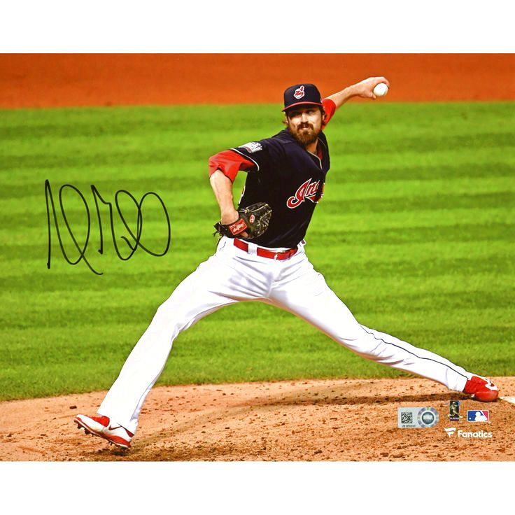 "Andrew Miller Cleveland Indians Fanatics Authentic Autographed 8"" x 10"" Pitching Photograph - $95.99"