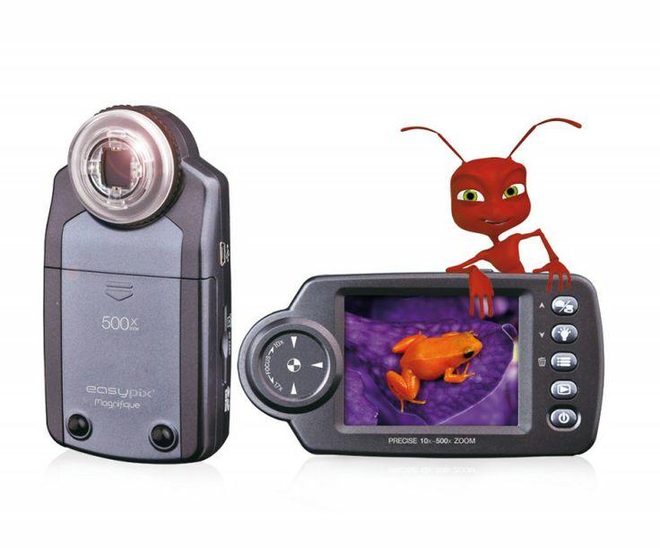 Easypix Magnifique Digital Microscope