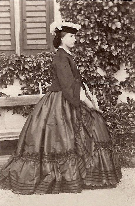 Archduchess Charlotte of Austria, neé Princess of Belgium, later Empress of Mexico. 1860s.