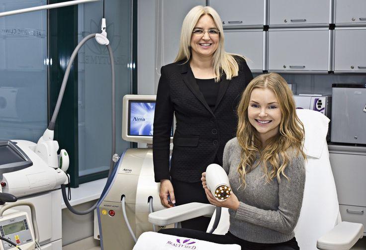 Izabela Miko has recently visited our clinic - thank you :) / Izabela Miko niedawno odwiedziła naszą klinikę
