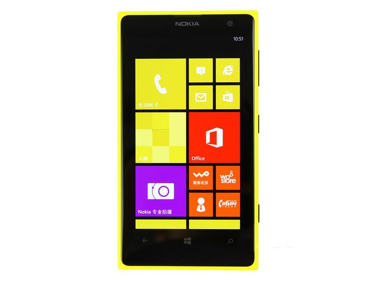 "Original Unlocked Nokia Lumia 1020 Mobile Phone 4.5"" Qualcomm Dual Core 2G/32GB Cell Phones 41MP GPS NFC Windows Smartphone"