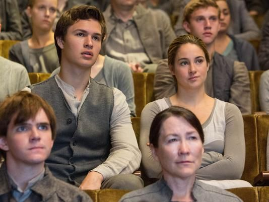 Caleb and Beatrice in the Choosing Ceremony