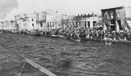 The Greek army evacuated Asia Minor in early September 1922 which resulted in a flood of Greek and Armenian refugees to Greece.