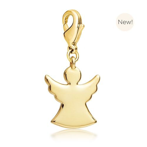 Angel Charm Gold Plated