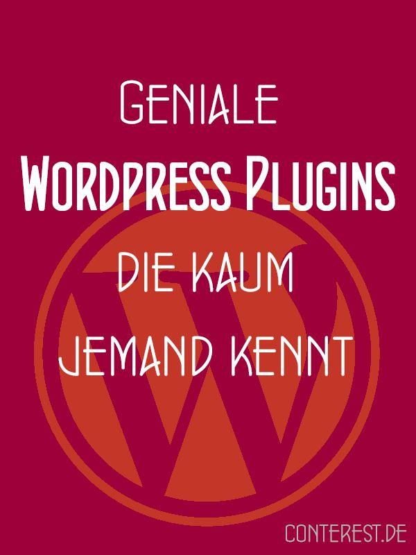 Geniale WordPress Plugins, die kaum jemand kennt. Neben allseits bekannten Favoriten und den Vertretern, die jeder haben muss, gibt es auch hier verborgene Talente und Schätze, die erst noch gehoben werden müssen.