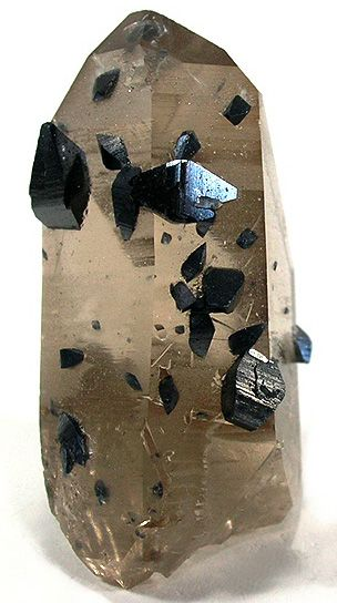 Anatase crystals on Quartz / Norway