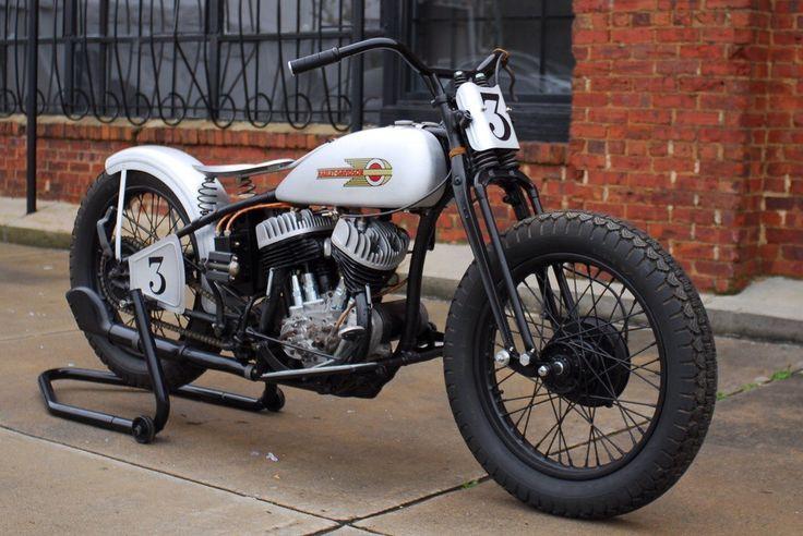 Hd Motorradbilder Rl 1934 H D Rl Bobber Motorcycle Classic Road Bike Classic Bikes