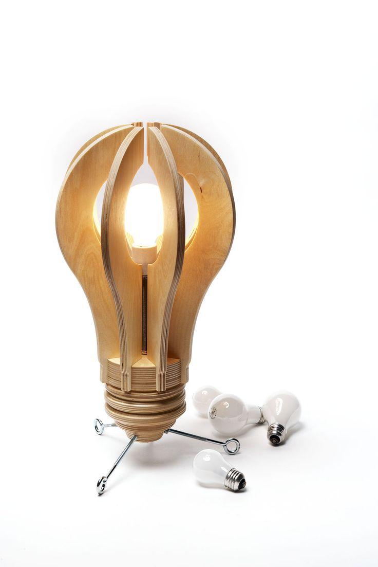Here's a bright idea! #woodworking #lamps -Dan