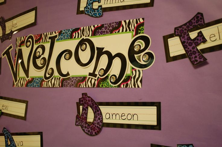 Zebra Classroom Decor ~ Best images about my animal print classroom things i
