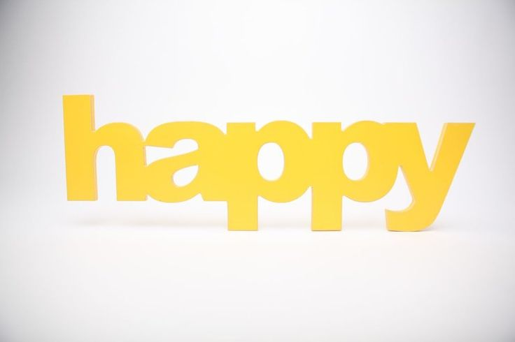 wooden word - happy by Bokke & Blomme for sale on http://hellopretty.co.za