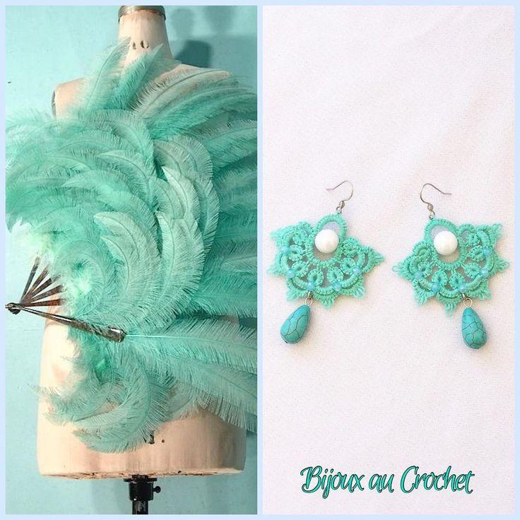 Bijoux au crochet - wonderful pieces!
