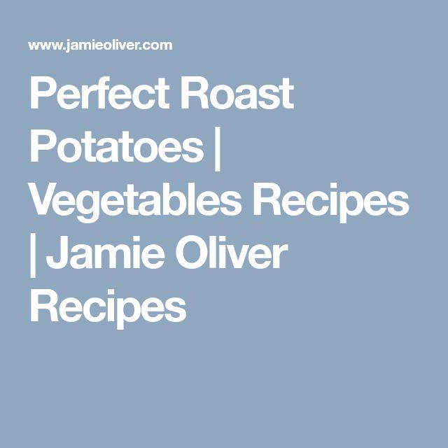 Perfect Roast Potatoes | Vegetables Recipes | Jamie Oliver Recipes