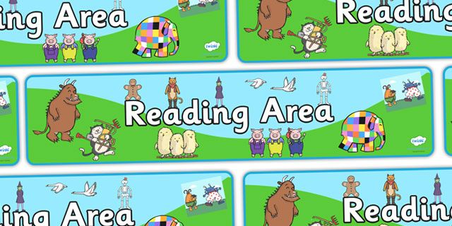 Twinkl Resources >> Reading Area Display Banner >> Printable resources for Primary, EYFS, KS1 and SEN.  Thousands of classroom displays and teaching aids! Classroom, Display, Banners, Reading, Literacy, English, Story Books