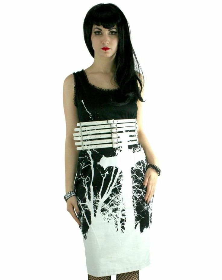 Too Fast Cross Damned Dress Goth Punk Psychobilly Metal Vamp Pin Up Lolita Club