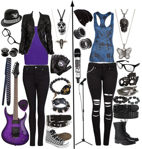"""Violet and Ronnie"" by xxxburningcoldxxx ❤ liked on Polyvore"