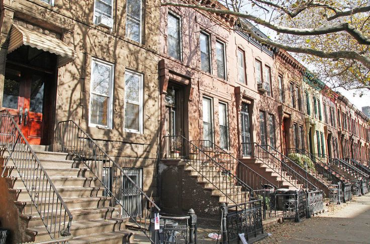 Front stoops are the best stoops for impromptu neighborhood get-togethers in Bedford Stuyvesant.