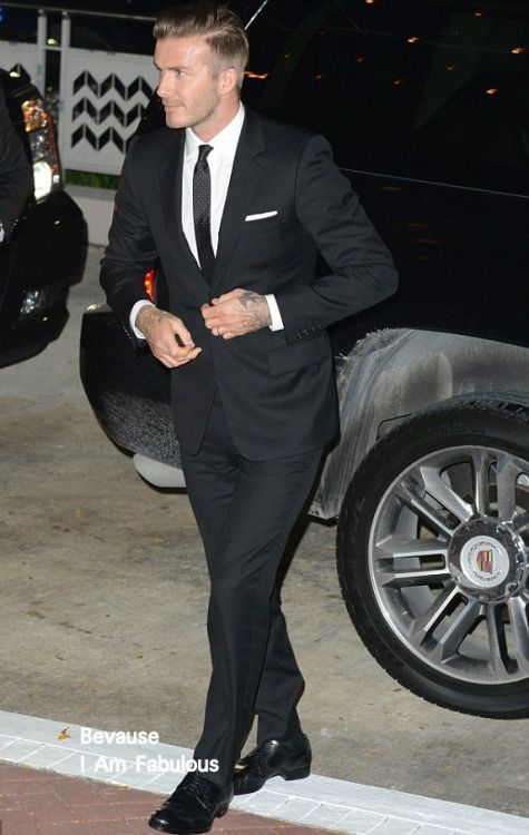 Style Icon - David Beckham Follow MenStyle1.com... | MenStyle1- Men's Style Blog