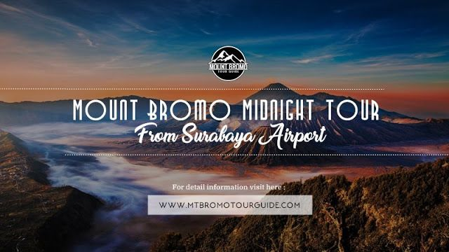 Mount Bromo Midnight Tour from Surabaya is special travel package to enjoy amazing view of Mount Bromo by staying 1 night around Cemoro Lawang, Ngadisari start from Surabaya Airport.