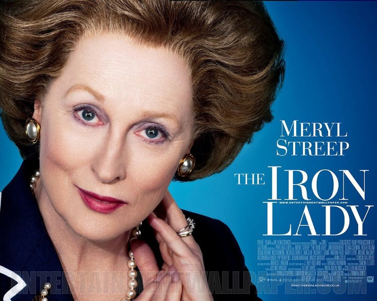 """""""We will stand on principle or we will not stand at all."""" Meryl Streep."""