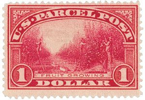 In 1912, the U.S. Postal Department introduced parcel post service for sending items weighing 16 ounces or more through the mail.  Almost any type of merchandise can be mailed parcel post, including day – old chicks, baby alligators, and honeybees.  Rural Americans used the new mail class to access goods and merchandise they could not have gotten before, giving rise to mail order giants like Sears, Roebuck and Co.