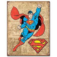 Flying Superman Vintage-Style Tin Sign  http://www.retroplanet.com/PROD/36434Superhero Retro, Tins Signs, Superman Weather, Panels Tins, Weather Panels, Vintage Tins, Rec Room, Superhero Stuff, Retro Vintage