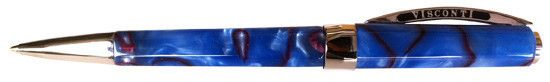 Visconti Opera Club Limited Blue - Red Swirl Ballpoint Pen