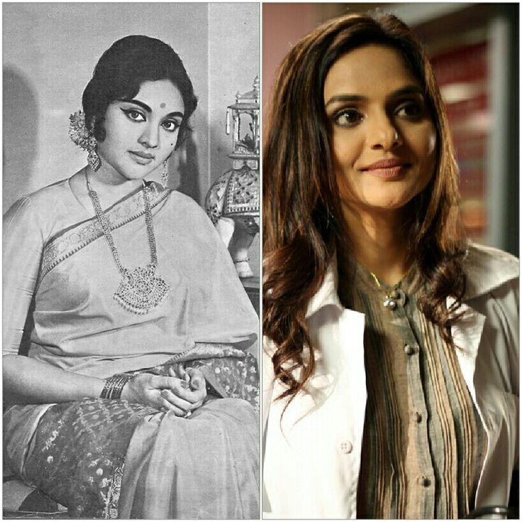 Bollywood  lookalikes:Vijantimala -Madhu