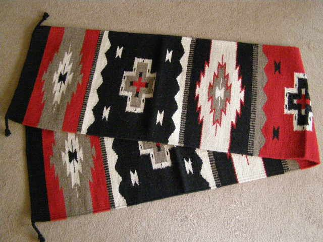 "Large Southwestern Table Runners 16""x80"" (16803) - Mission Del Rey Southwest"